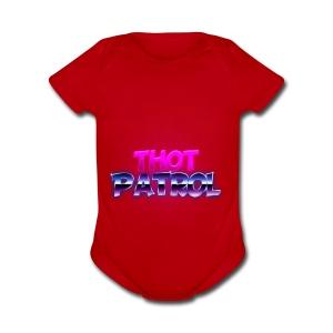 Thot Patrol - Shirt - Short Sleeve Baby Bodysuit