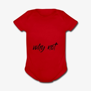 Why Not ? For pale shirt - Cache-couche à manches courtes