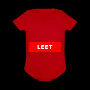 LIMITED EDITION LEET MERCH - Short Sleeve Baby Bodysuit