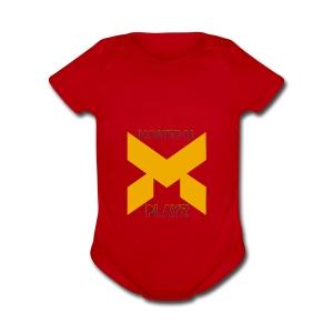 MasterAlPlayz - Short Sleeve Baby Bodysuit