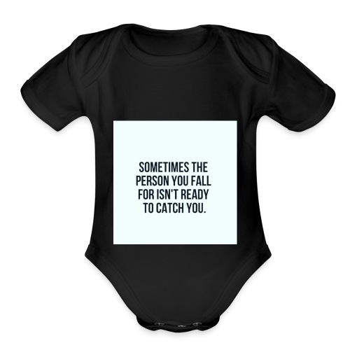 Crushing - Organic Short Sleeve Baby Bodysuit