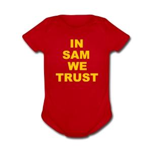 In SD We Trust - Short Sleeve Baby Bodysuit