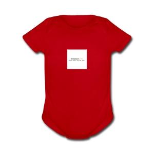 YouTube Channel - Short Sleeve Baby Bodysuit