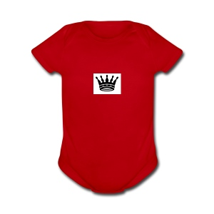 King - Short Sleeve Baby Bodysuit
