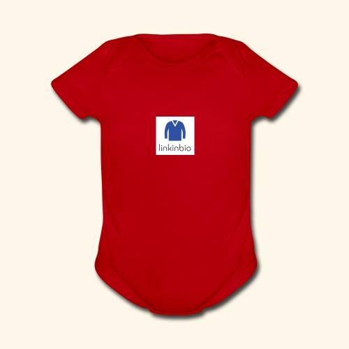LinkInBio - Organic Short Sleeve Baby Bodysuit