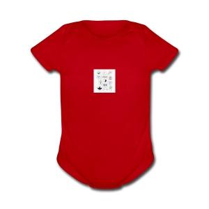 images 7 - Short Sleeve Baby Bodysuit