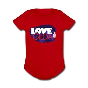 LoveGilda 04 PMS - Short Sleeve Baby Bodysuit
