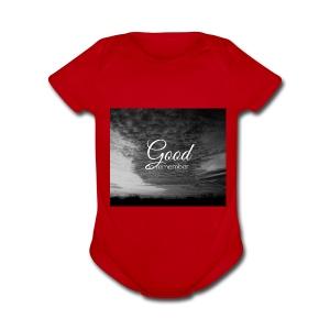 jeramih art - Short Sleeve Baby Bodysuit