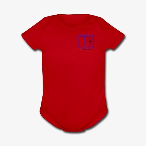 logo transparent background - Organic Short Sleeve Baby Bodysuit