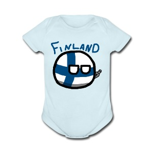 Finlandball - Short Sleeve Baby Bodysuit