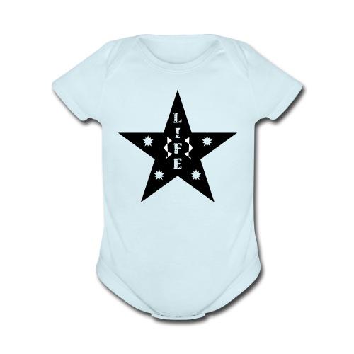 Star of Life - Organic Short Sleeve Baby Bodysuit