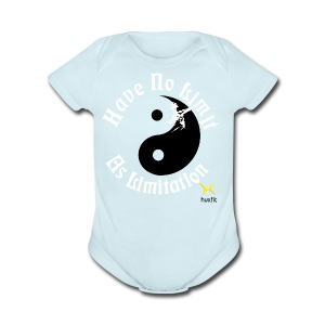 Have No Limit As Limitation - Short Sleeve Baby Bodysuit