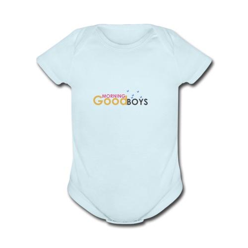 good morning - Organic Short Sleeve Baby Bodysuit