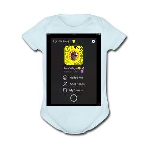 878F3BC7 86AA 41D7 8A7C BAA46013095A - Short Sleeve Baby Bodysuit