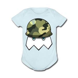 Null Army Logo - Short Sleeve Baby Bodysuit