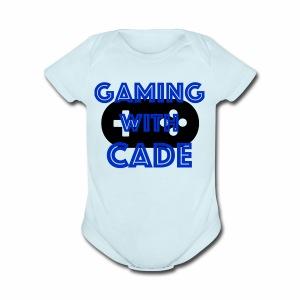 GamingWithCade Shop - Short Sleeve Baby Bodysuit