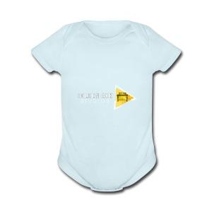 Golden Ark Represent - Short Sleeve Baby Bodysuit