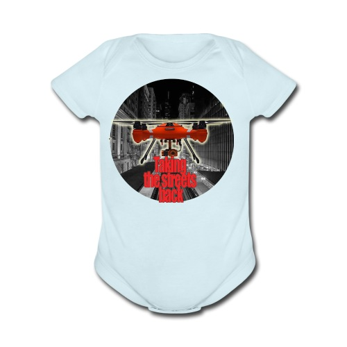 Taking Back the Night - Organic Short Sleeve Baby Bodysuit