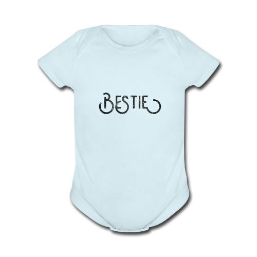 Bestie - Organic Short Sleeve Baby Bodysuit