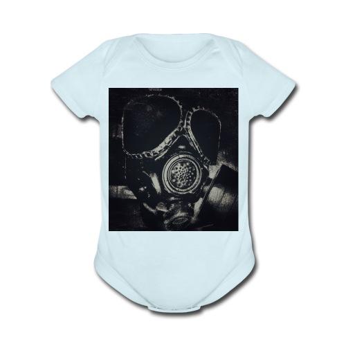 G-Mask - Organic Short Sleeve Baby Bodysuit
