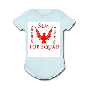 Top squad - Short Sleeve Baby Bodysuit