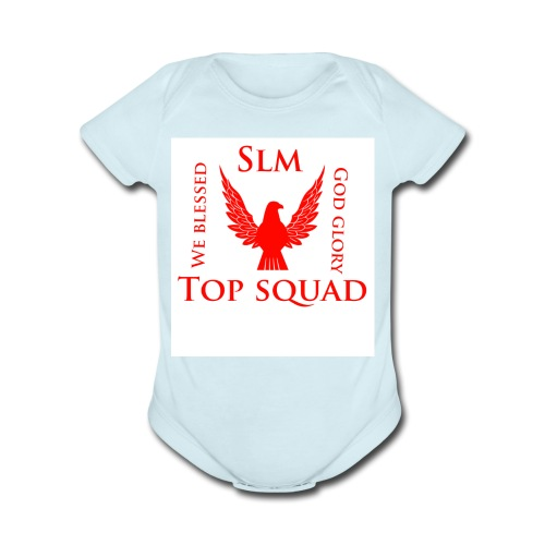 Top squad - Organic Short Sleeve Baby Bodysuit