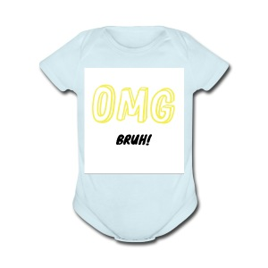 The Classic OMG - Short Sleeve Baby Bodysuit