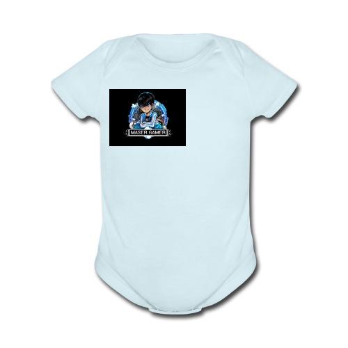 AndrewGamer - Organic Short Sleeve Baby Bodysuit