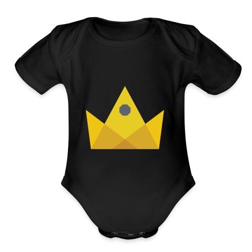 I am the KING - Organic Short Sleeve Baby Bodysuit