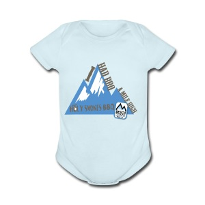 BBQ A Mile High - Short Sleeve Baby Bodysuit