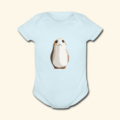 Hamster Chubby Mike by Norte - Organic Short Sleeve Baby Bodysuit
