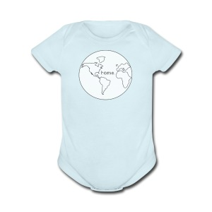 Earth is Home - Short Sleeve Baby Bodysuit