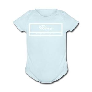 RARE Wht Label Women/ Girls - Short Sleeve Baby Bodysuit