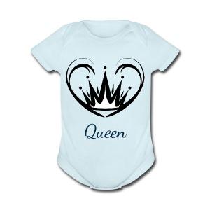 queen - Short Sleeve Baby Bodysuit