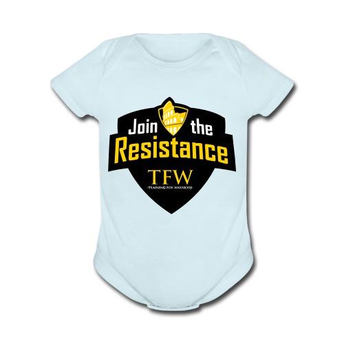 TFW VECTOR - Organic Short Sleeve Baby Bodysuit