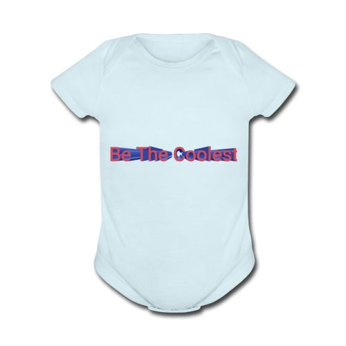 Coolest - Organic Short Sleeve Baby Bodysuit