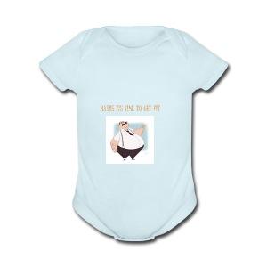 Get Fit - Short Sleeve Baby Bodysuit