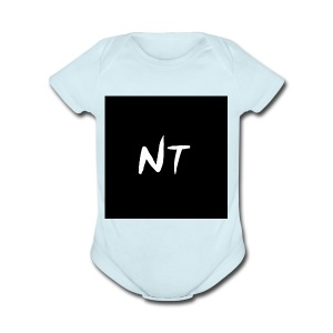 side merch - Short Sleeve Baby Bodysuit