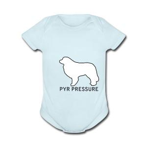PYR PRESSURE - Short Sleeve Baby Bodysuit