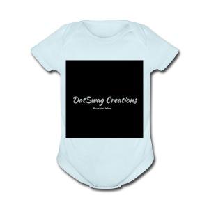 DatSwag Creations - Short Sleeve Baby Bodysuit