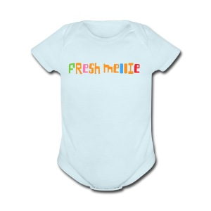 Fresh Mellie - Short Sleeve Baby Bodysuit