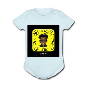 Snap - Short Sleeve Baby Bodysuit
