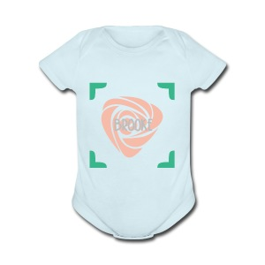 Brooke Merch - Short Sleeve Baby Bodysuit