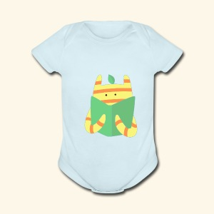 book monster - Short Sleeve Baby Bodysuit