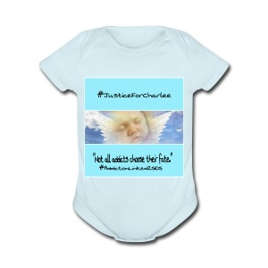 Justice For Charlee - Short Sleeve Baby Bodysuit