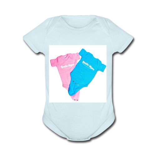 Smile More Oneness - Organic Short Sleeve Baby Bodysuit