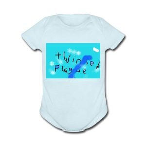 The official twinned army merch - Short Sleeve Baby Bodysuit