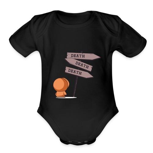 eskimooo - Organic Short Sleeve Baby Bodysuit