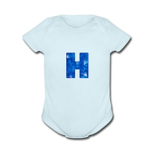 XxHaunter Logo - Short Sleeve Baby Bodysuit