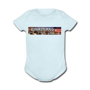 Dynasty M&G - Short Sleeve Baby Bodysuit